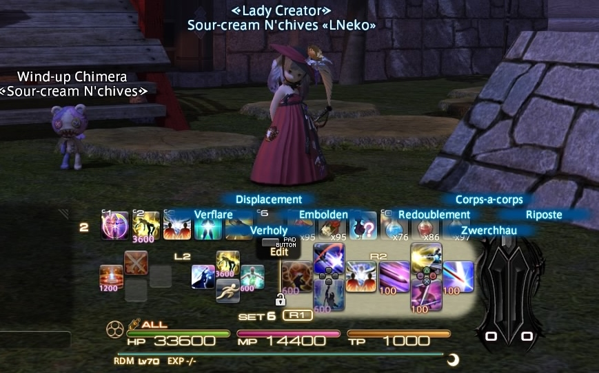 RDM) – Red Mage Controller Guide (sort of) | TheWhiteMage com